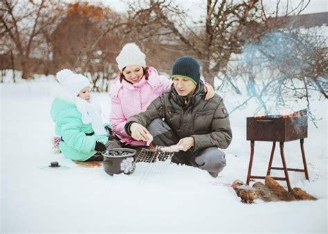 grillparty im winter bild 5 winteraktivit 228 ten eine grillparty