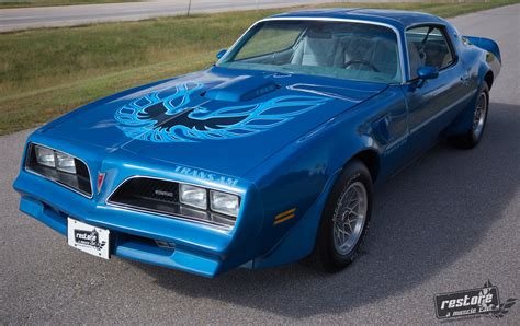 1978 Blue Trans Am by 1978 Pontiac Trans Am Restore A Car Llc