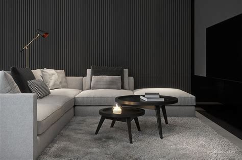 Two Black And Gray Homes With Chic Simplicity by 3180 Best Living Room Designs Images On Living