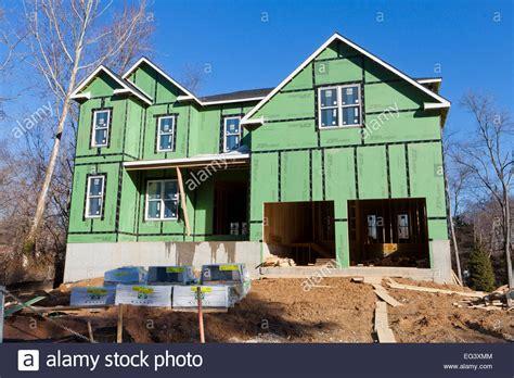 Haus Kaufen Virginia Usa by Neues Haus Mit Zip Ummantelung Und Stretch Band House Wrap
