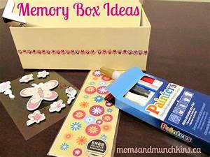 Memory Box Ideas for Kids - Moms & Munchkins