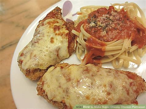 how to make chicken parmesan how to make super cheesy chicken parmesan 8 steps with pictures