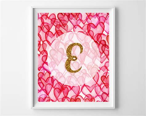 valentines day  printables hearts gold glitter