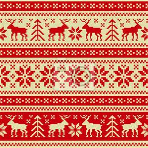 papier peint christmas and new year seamless pattern