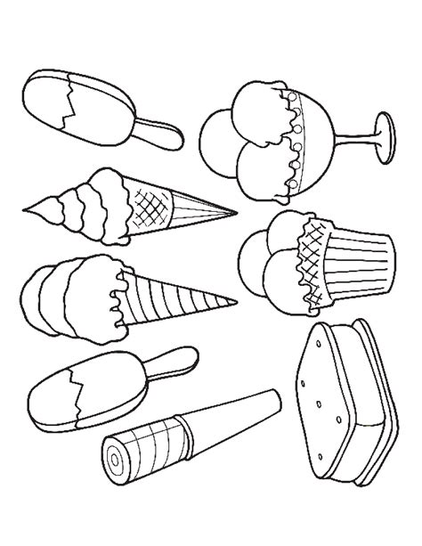 ice cream dreams colouring pages page  coloring pages