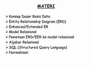 01 Pengatantar Basis Data