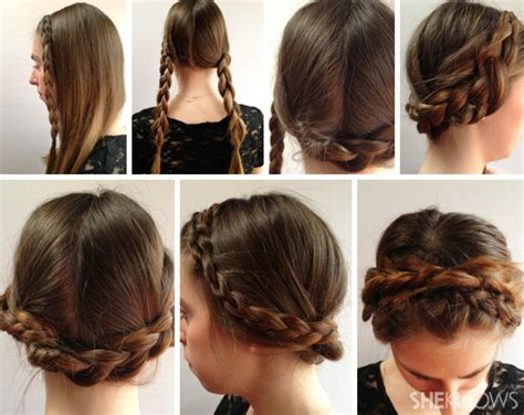 Step By Step Pictures Of Ideas To Braid Your Own Hairs For Beginners