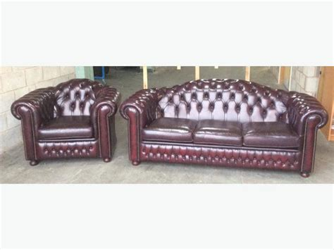 we deliver uk leather high back chesterfield sofa set