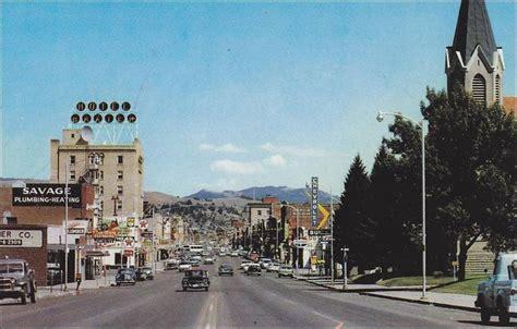 Main Street , BOZEMAN , Montana , 50-60s | Main Street ...