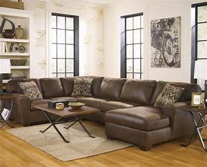 Furniture small leather u shaped sectional couch with for Sectionals for small rooms canada