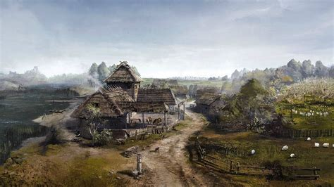 Witcher 3 Landscape Wallpaper The Witcher The Witcher 3 Wild Hunt Video Games Concept Art Wallpapers Hd Desktop And
