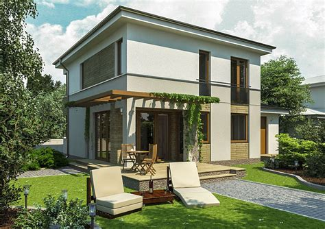 Small Two Story House Plans  Open Homes  Houz Buzz