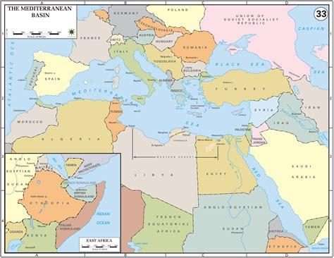 map  northern africa  europe  travel information