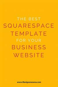 The best squarespace template for your business website for Best squarespace template for video