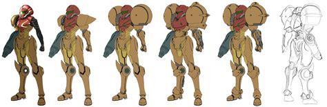 Metroid Samus Aran Suit Design By Torokun On Deviantart