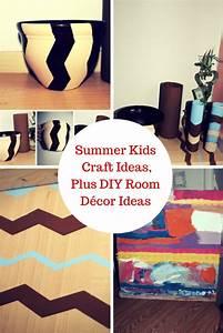 Summer, Kids, Craft, Ideas, Plus, Diy, Room, D, U00e9cor, Ideas