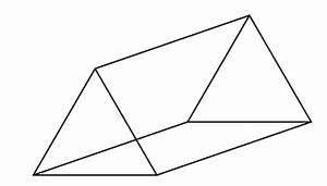 How many faces edges and vertices does a triangular prism ...