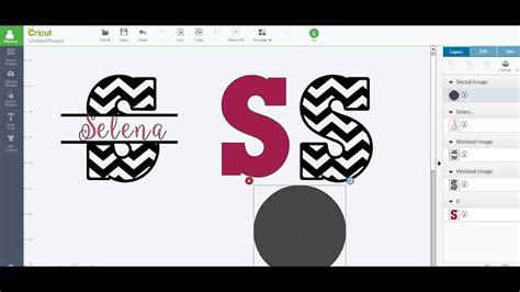 patterned split imagesletters  slice weld