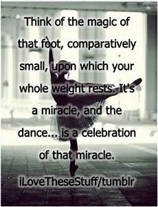 Ballet Quotes And Sayings. QuotesGram