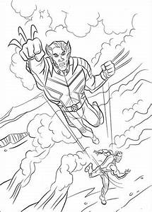 Disegno Di Wolverine Da Colorare Disegni Da Colorare E