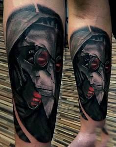 75 Steampunk Tattoo Designs For Men Masculine Machinery
