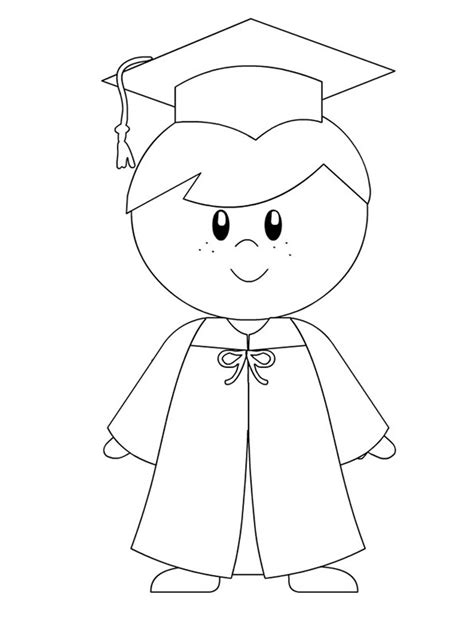 graduation coloring pages   print graduation
