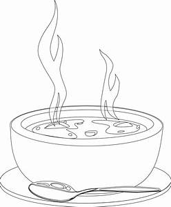 Soup Clipart Black And White | Clipart Panda - Free ...