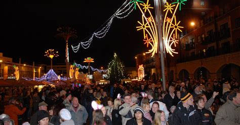lights switch on dates for wolverhton