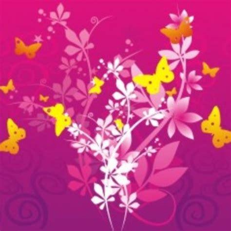 farfalle e fiori fiori e farfalle scaricare vettori gratis