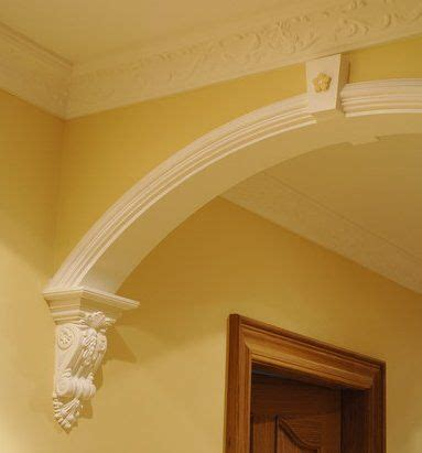 Arch Corbel by Archway With Corbels Wood Corbels Carved With Many