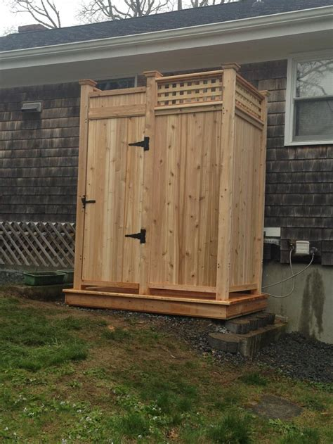 Outdoor Shower Company - cape cod outdoor shower company modular outdoor shower