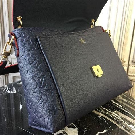 louis vuitton blanche mm monogram empreinte marine rouge aaa handbag