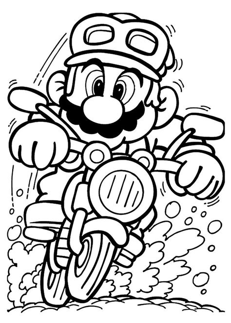 nintendo coloring pages  kids coloring home