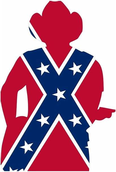 Guitar Flag Player Confederate Vector Svg States