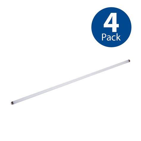 shop utilitech 4 pack 32w equivalent daylight t8 led