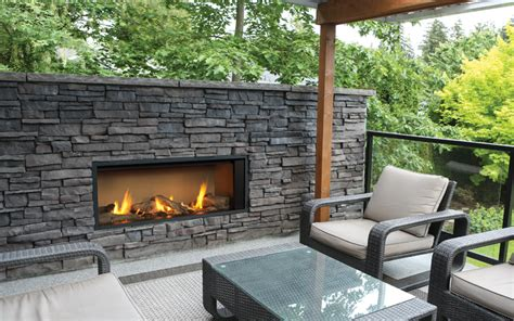 valor outdoor gas fireplace  outdoor linear series gas