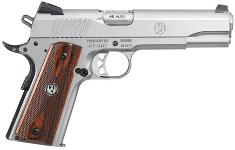 Gun Review Ruger Sr1911 Review  The Firearm Blogthe Firearm Blog