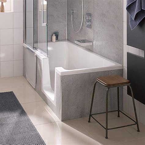 duschbadewanne mit tür hsk dusch badewanne dobla 160 cm einstieg rechts 540161 megabad