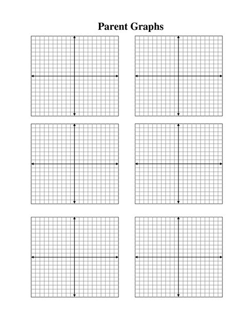 Printable Graph Paper with X Y Axis