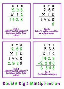 The Multiplication Chart Up To 12 Double Digit Multiplication Anchor Chart By Viviana Graney