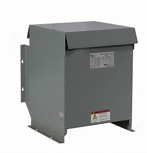 15kva Dry Type Transformer  480 - 240 Volt Step Down  3 Phase