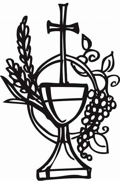 Clipart Chalice Communion Holy Wine Cliparts Clip