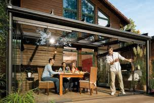 Glass Enclosed Deck by Glass Patio Rooms From Weinor Glasoase Modern Outdoors