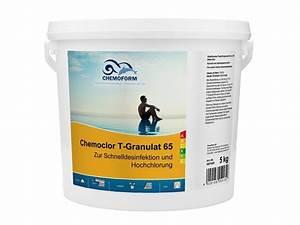 Chlorgranulat 5 Kg : chemoform chemoclor t granulat 65 5 kg wasserpflege ~ Watch28wear.com Haus und Dekorationen