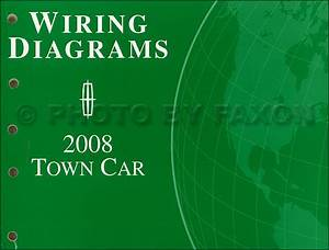 2008 Lincoln Town Car Wiring Diagram Manual Original