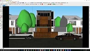 Exterior Rendering Settings In Sketchup 2017  U0026 Vray 3 4 Tutorial 001