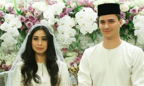 malaysian princess marries dutch born love  lavish royal