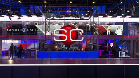 Espn Background Espn S New Sportscenter Studio To Debut On Sunday Cable