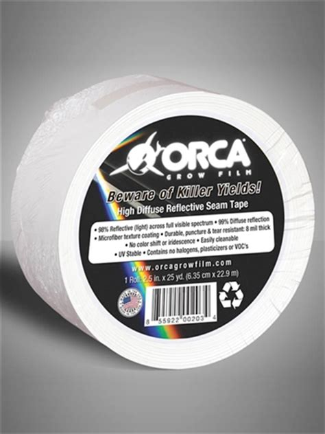 orca grow film beware  killer yields reflective seam