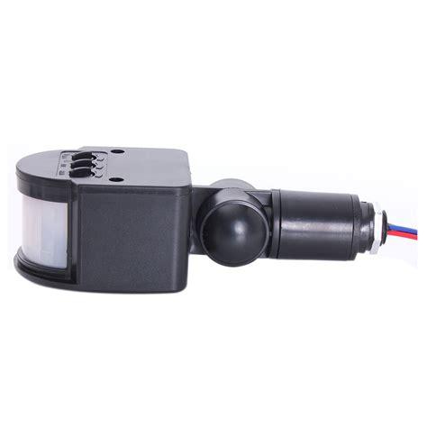 led security light infra pir motion sensor detector